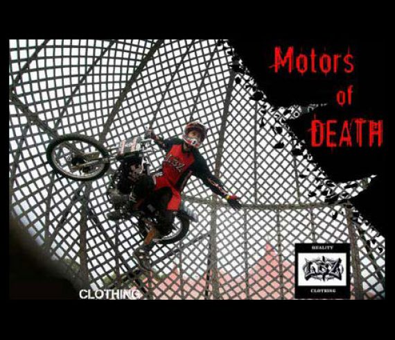 globe of death, motors of death, globe de la mort, motos de la mort