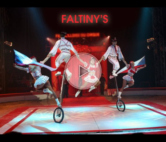 unicycle troupe, troupe sur monocycle, faltyny