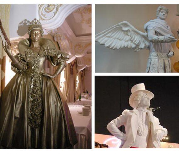 statue vivante, living statue, mime, mimes, still statue