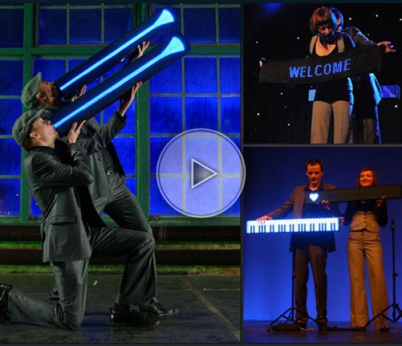 led show, led performers, artiste led