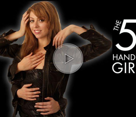 magic lady, magicienne, magic girl, 5 hands, 5 mains