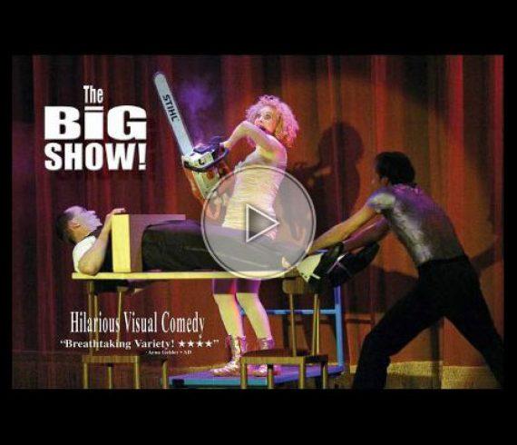 big show, comedy magic, magie comique, illusions