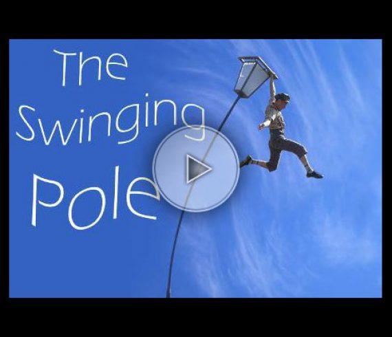mat oscillant, swinging pole, chinese pole, mole act, numéro de mât