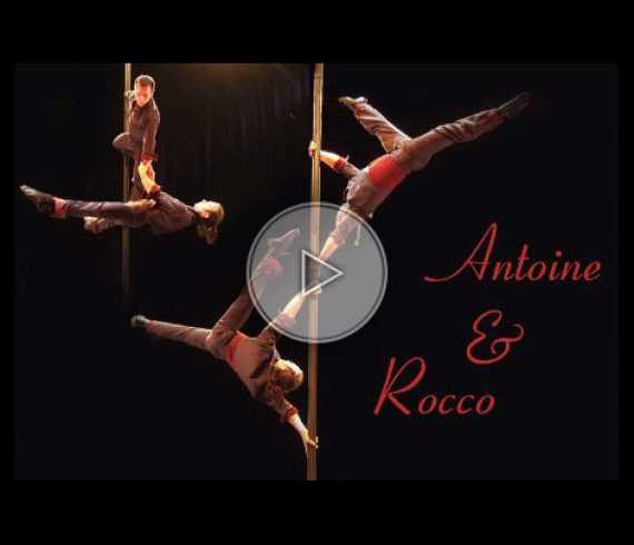 antoine et rocco, mat chinois, chinese pole act,