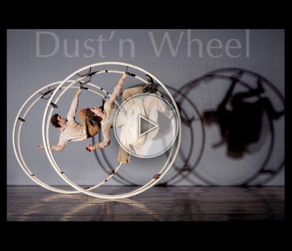 german wheel duo, duo à la roue allemande, duo sur roue allemande