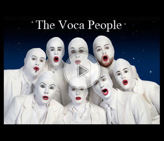 voca people, white, blanc, singers, chanteurs
