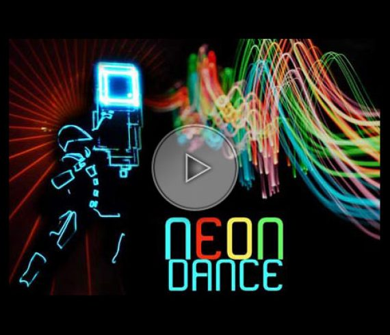neon dance, danseurs neon, led dancers, led,