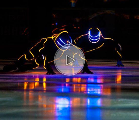 ice led, led show, ice show, future ice, led future