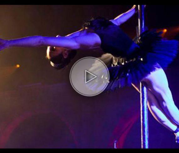 pole dance, black swan, black swan pole, mat chinois, artiste au mât, pole artist, pole performer, pole dancer
