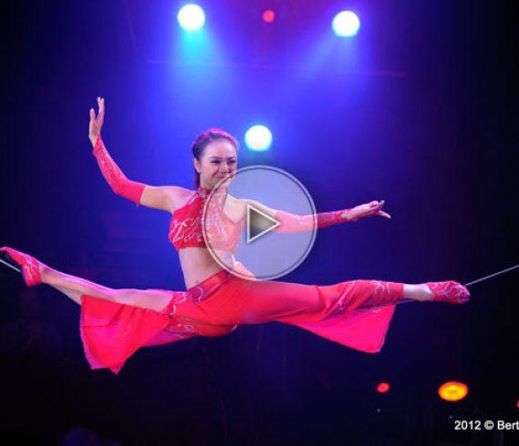 vietnam circus, vietnam performer, handbalance on a wire, cirque du vietnam, acrobate du vietnam, slack wire, fil mou