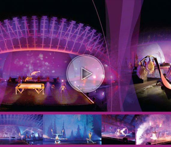 spectacle du cirque du soleil, cirque du soleil événement, cirque du soleil événementiel, événementiel cirque du soleil