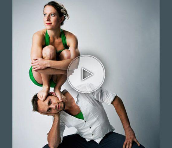 main à main, numéro d'équilibres, maxi mini, équilibristes, équilibres homme femme