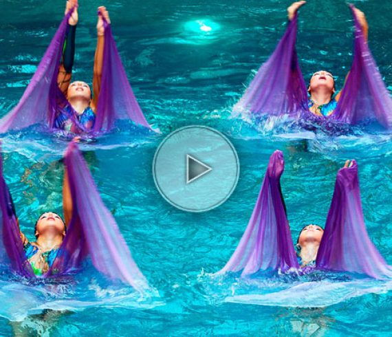 troupe aquatique, danseuses aquatique, nageuses, spectacle aquatique, troupe de nageuses, artistes synchronisées