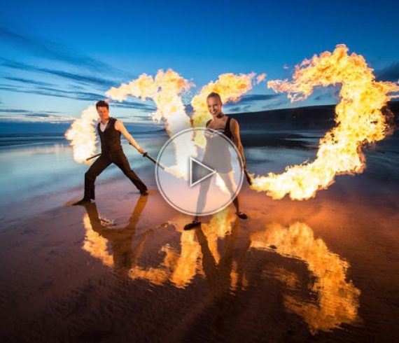 duo de feu, jongleurs de feu, feu, artistes de feu, spectacle de feu