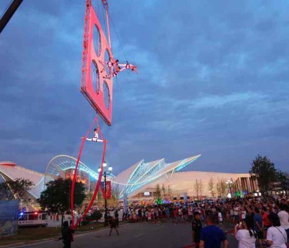 Suspended wall, aerial dance, aerial act, aerial show, aerial wall, dancing air, dance air, acrobat air