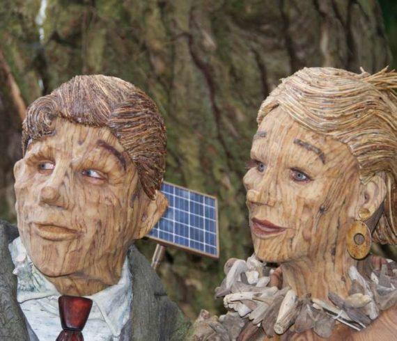 couple de bois, couple en bois, bois, nature,