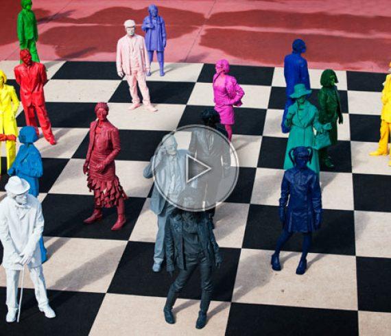 personnages de couleur, personnes de couleur, personages multicouleurs, multicouleurs