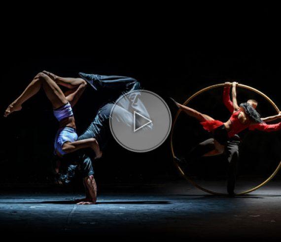duo de roue cyr, couple à la roue cyr, portées acrobatiques, duo de portées acro, pologne roue cyr
