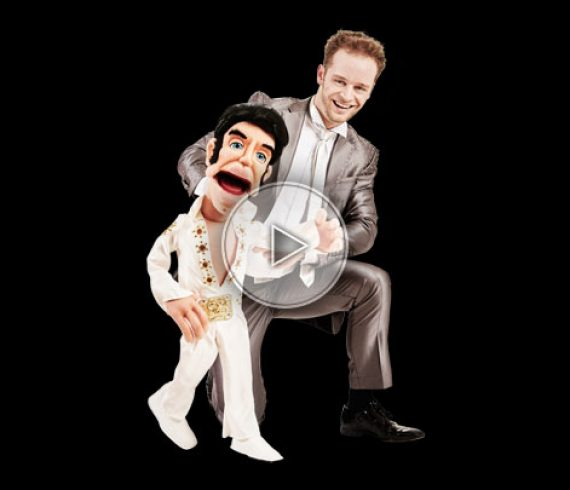 ventriloque, chanteur ventriloque, ventriloque las vegas, spectacle ventriloquie