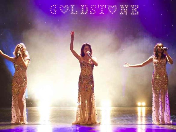 chanteuses golden singers, trio de chanteuses, chanteuses à la voix d'or, chanteuses, chanteuses anglaises