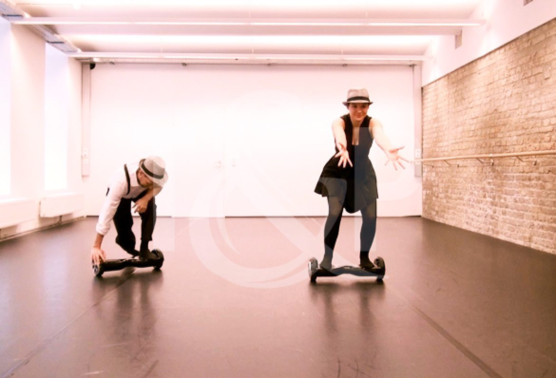 hoverboard, duo hoverboard, duo, france, evenement, danse, danseurs duo, danse hoverboard, strasbourg, congrès ITS