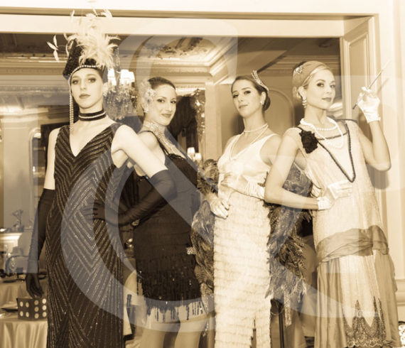 danseuses gatsby monaco, danseuses gatsby, thématique gatsby, monaco, hotel hermitage,