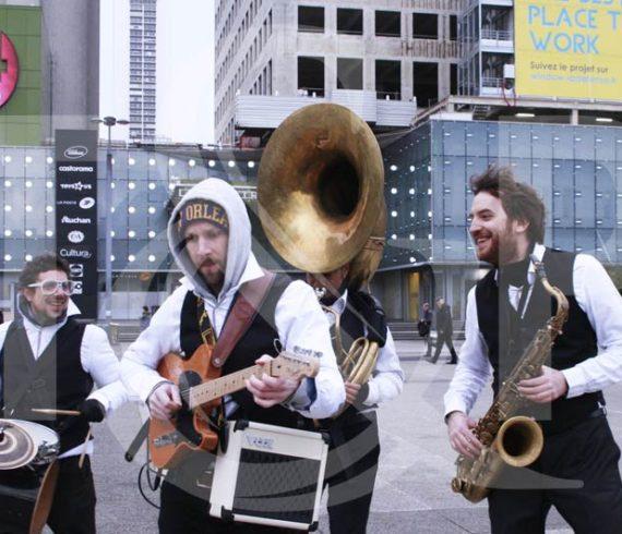suisse, genève, orchestre sur roller, orchestre à rollers, groupe de musique roller, musique à roller