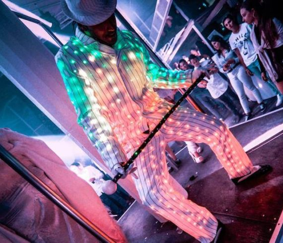 robot danseurs led, robot led, danseur led, solo danseur, danseur lumineux