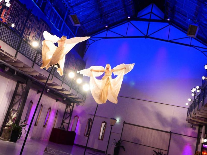 artistes mat oscillant, mats oscillants, acrobates mât, mâts flexibles, mat chinois, perches osciallntes, perches flexibles, tube oscillant