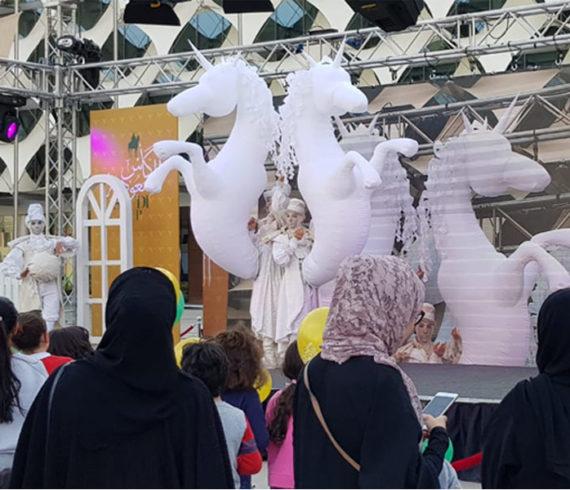 licorne, spectacle de licornes, licornes blanches, licornes gonflables, artistes licornes, spectacle de licornes, mariage, spectacle mariage, fêtes blanches