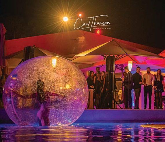 Danseuses, danseuses bulles, danse eau, sud de la france, mandelieu