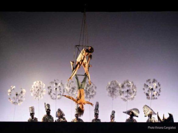Show Aerien, Aerien, carrée aérien, duo aériens, danseurs aériens, équilibristes, duo allemands, spectacle Allemagne