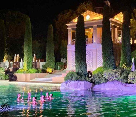 monaco, monte Carlo bay, natation monaco, show natation monaco, natation synchronisée monaco, natation spectacle monaco